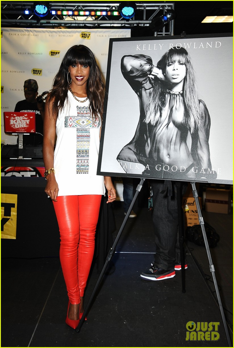 kelly rowland talk a good game nyc album signing 082894185