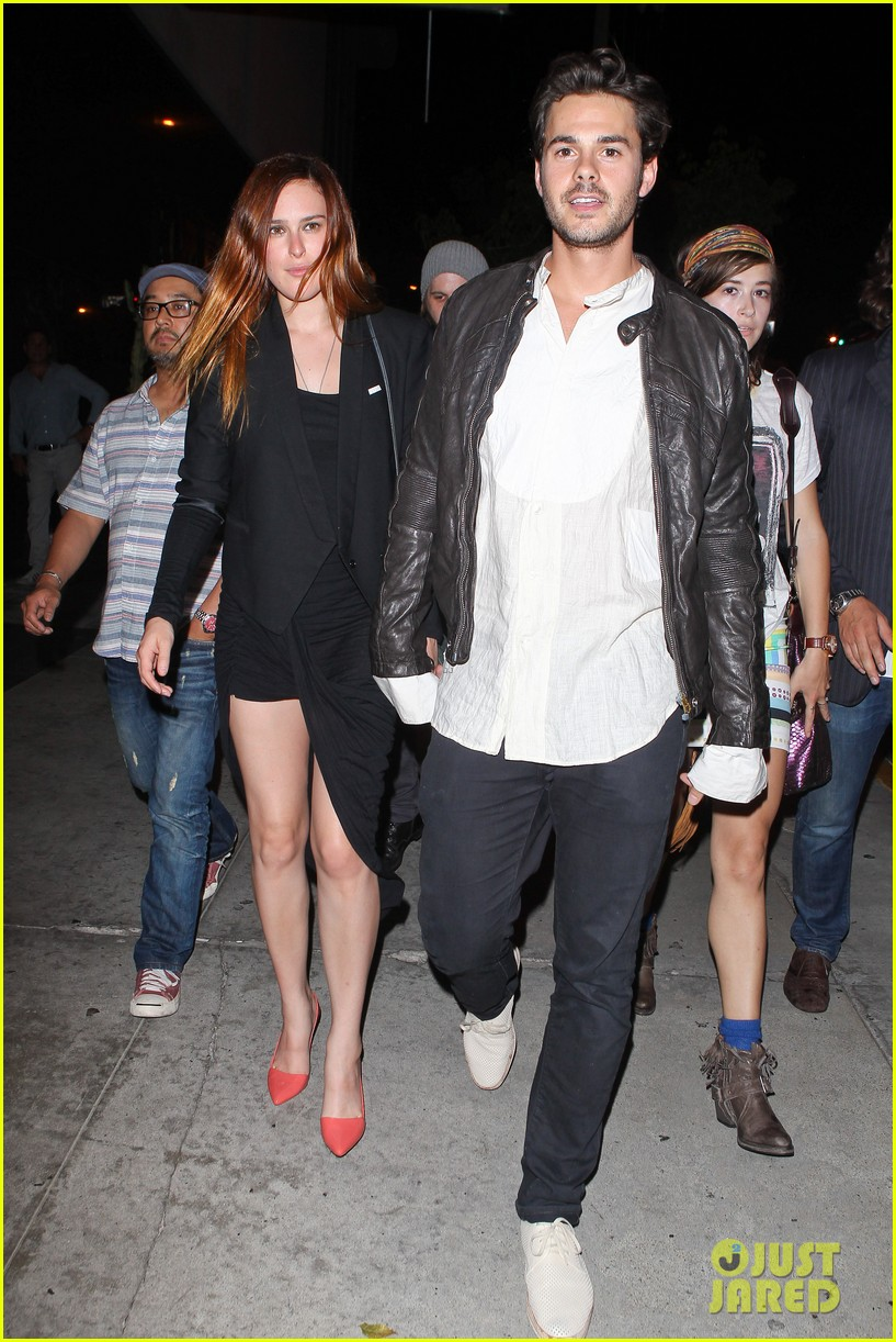 rumer willis jayson blair bootsy bellows couple 012901223
