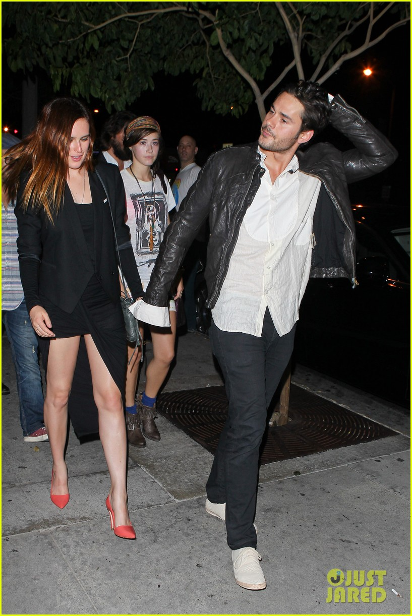 rumer willis jayson blair bootsy bellows couple 09