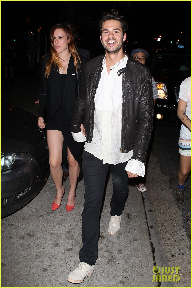 rumer willis jayson blair bootsy bellows couple 102901232
