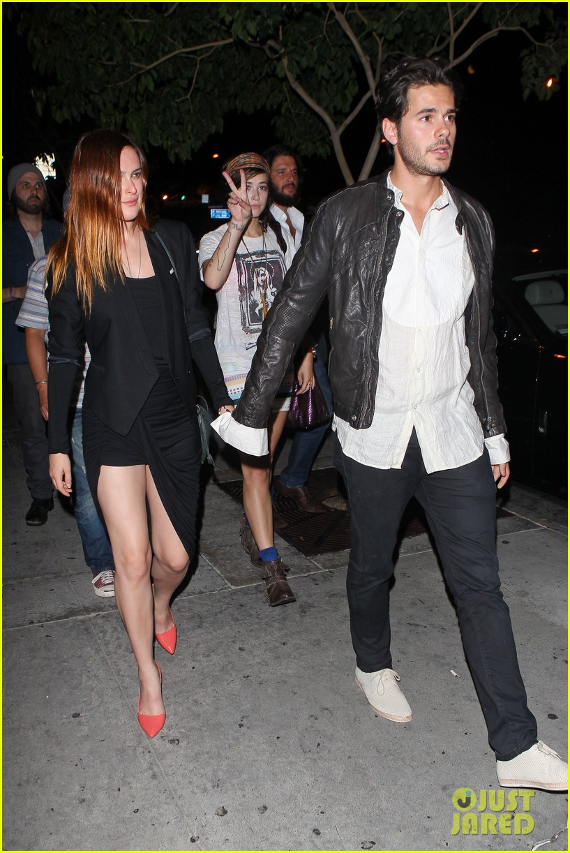 rumer willis jayson blair bootsy bellows couple 122901234