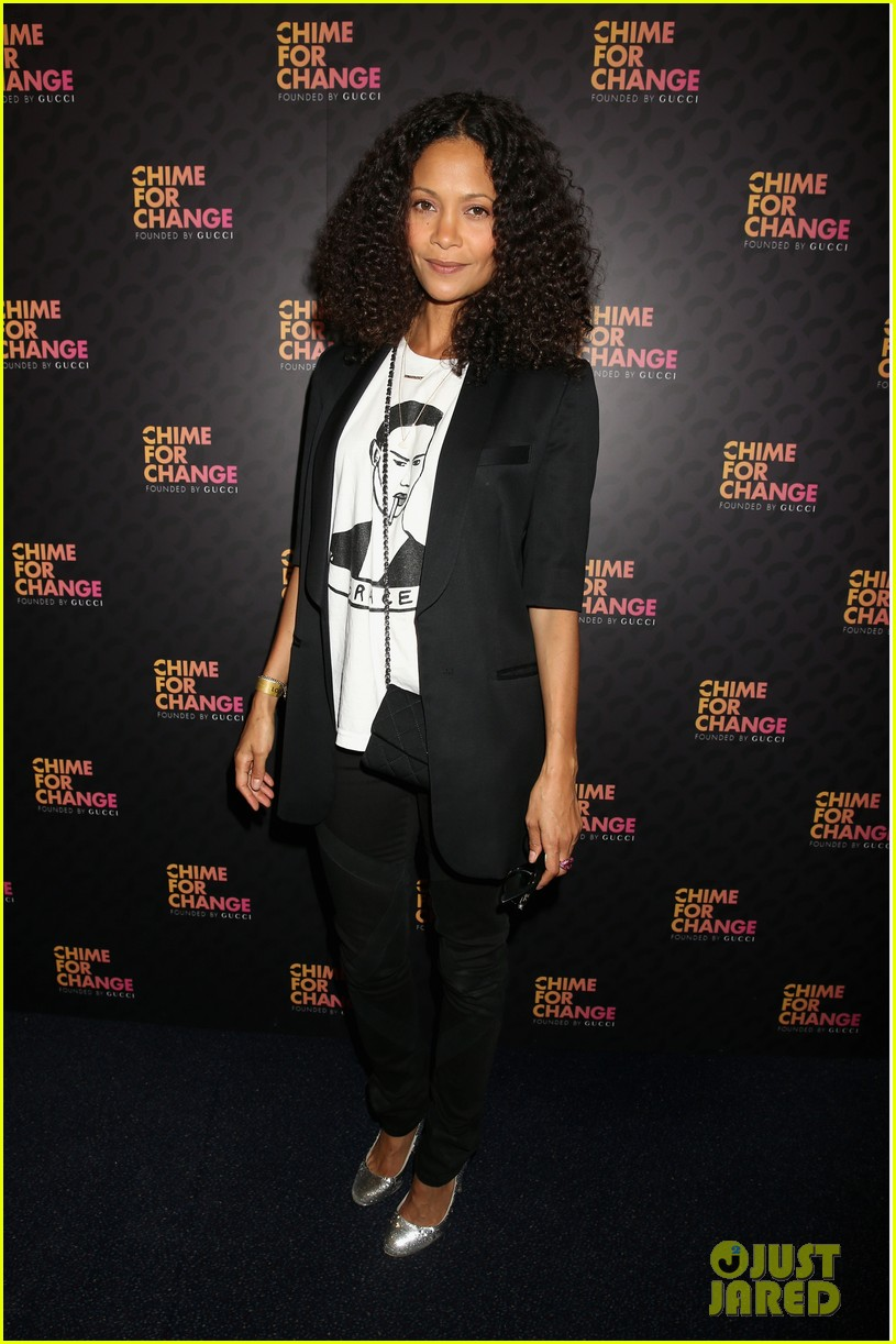 zoe saldana thandie newton chime for change concert 062882102