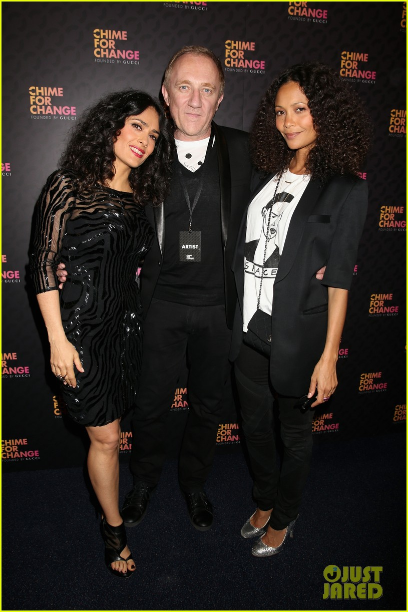 zoe saldana thandie newton chime for change concert 072882103