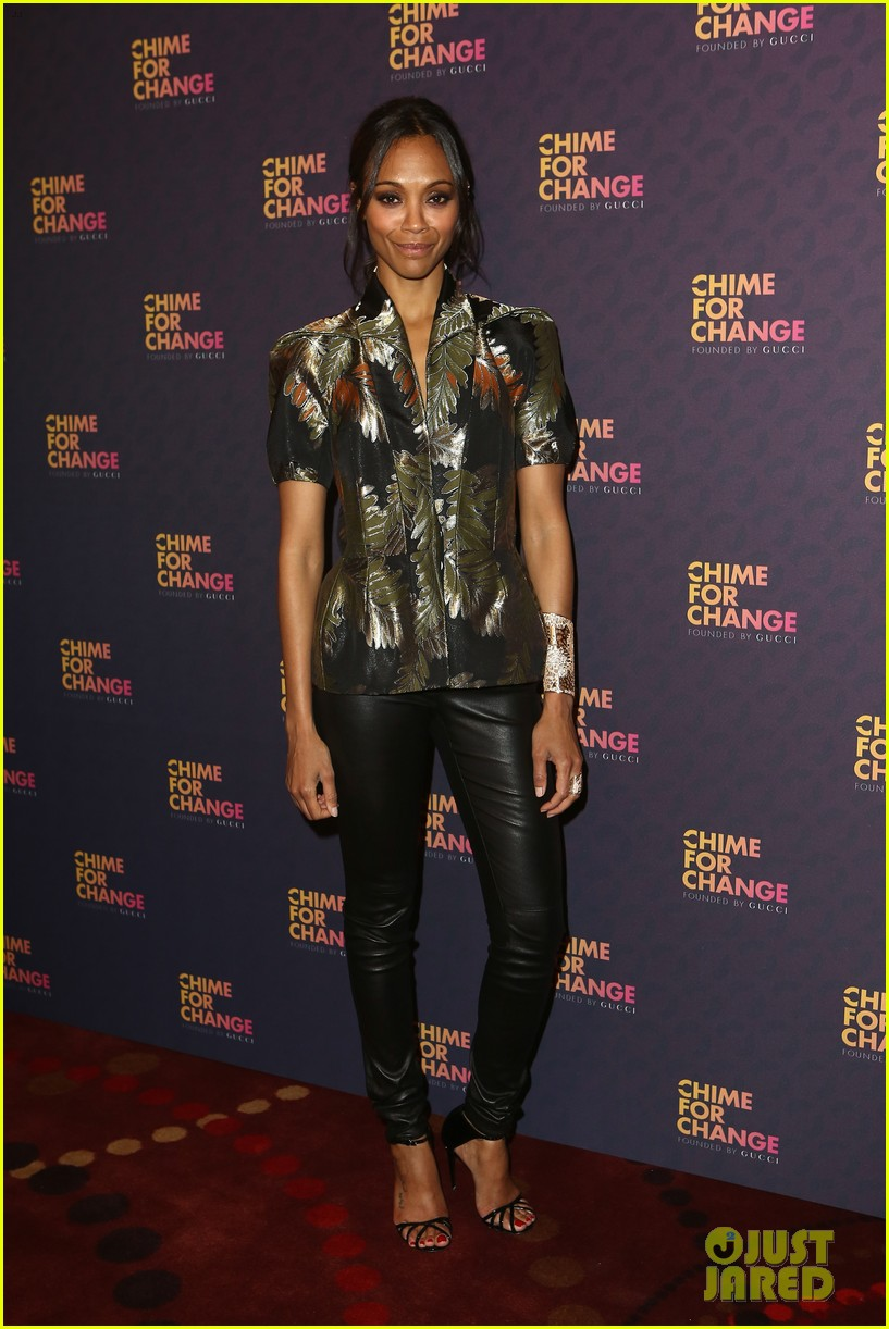zoe saldana thandie newton chime for change concert 112882107