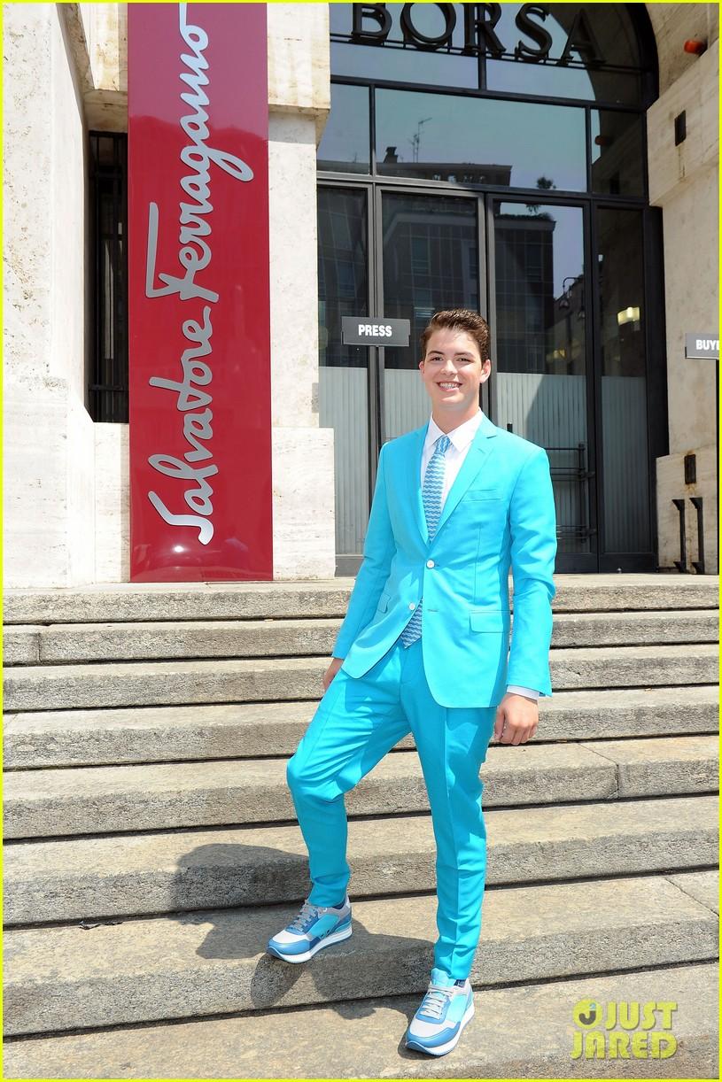 mark salling michael pitt milan fashion week shows 012897250
