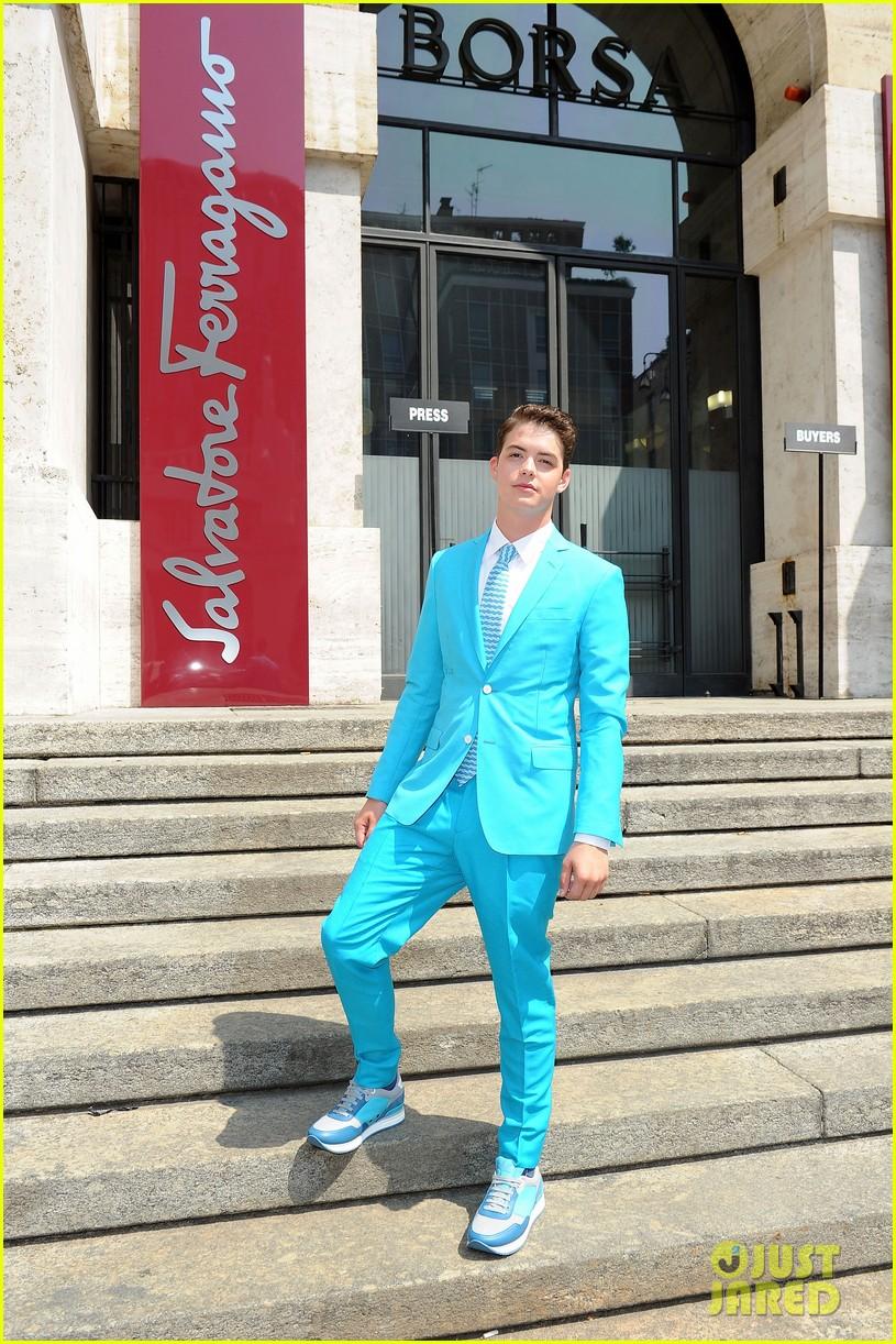 mark salling michael pitt milan fashion week shows 132897262