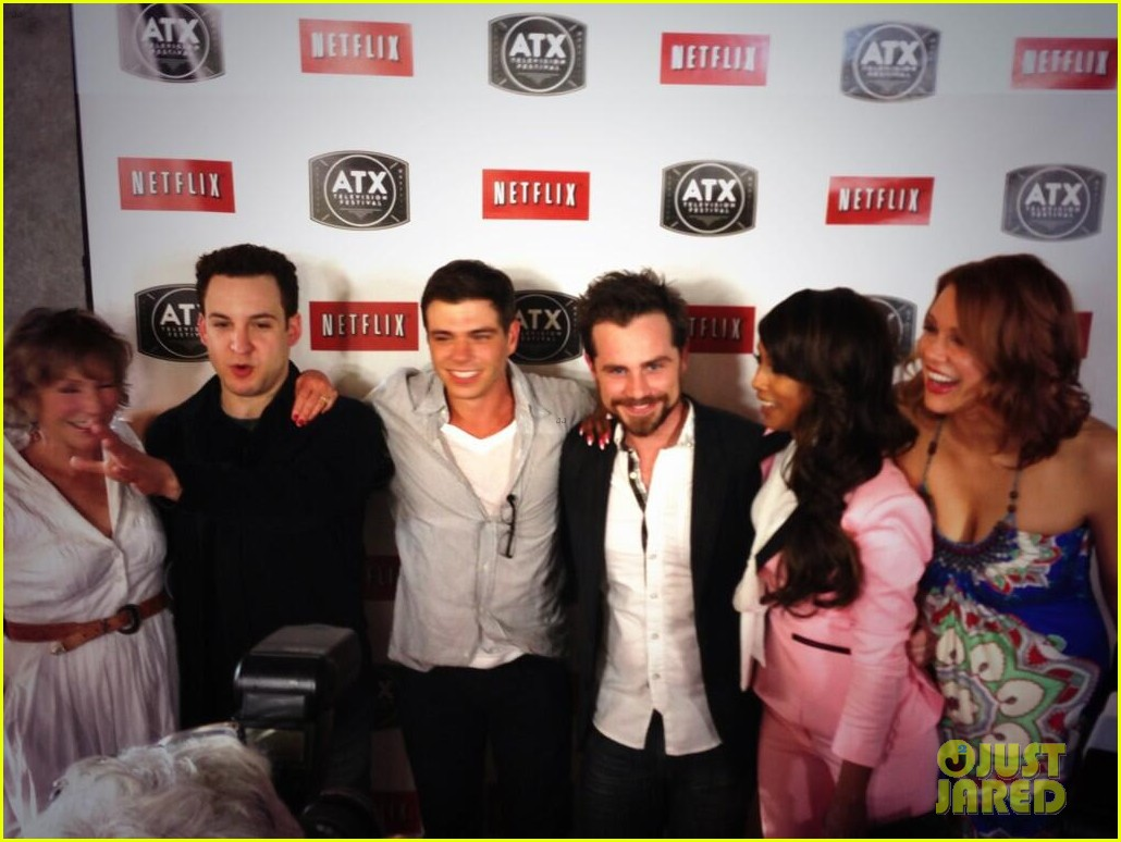 ben savage boy meets world cast reunites at atx festival 06