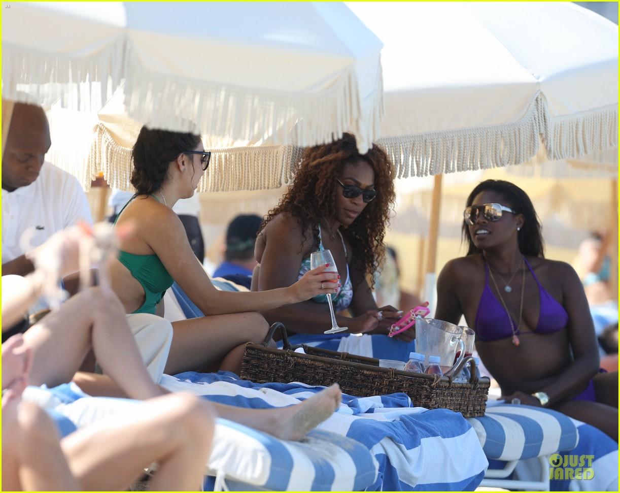 serena williams miami bikini beach babe 102891966