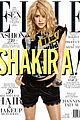 shakira covers elle july 2013 01