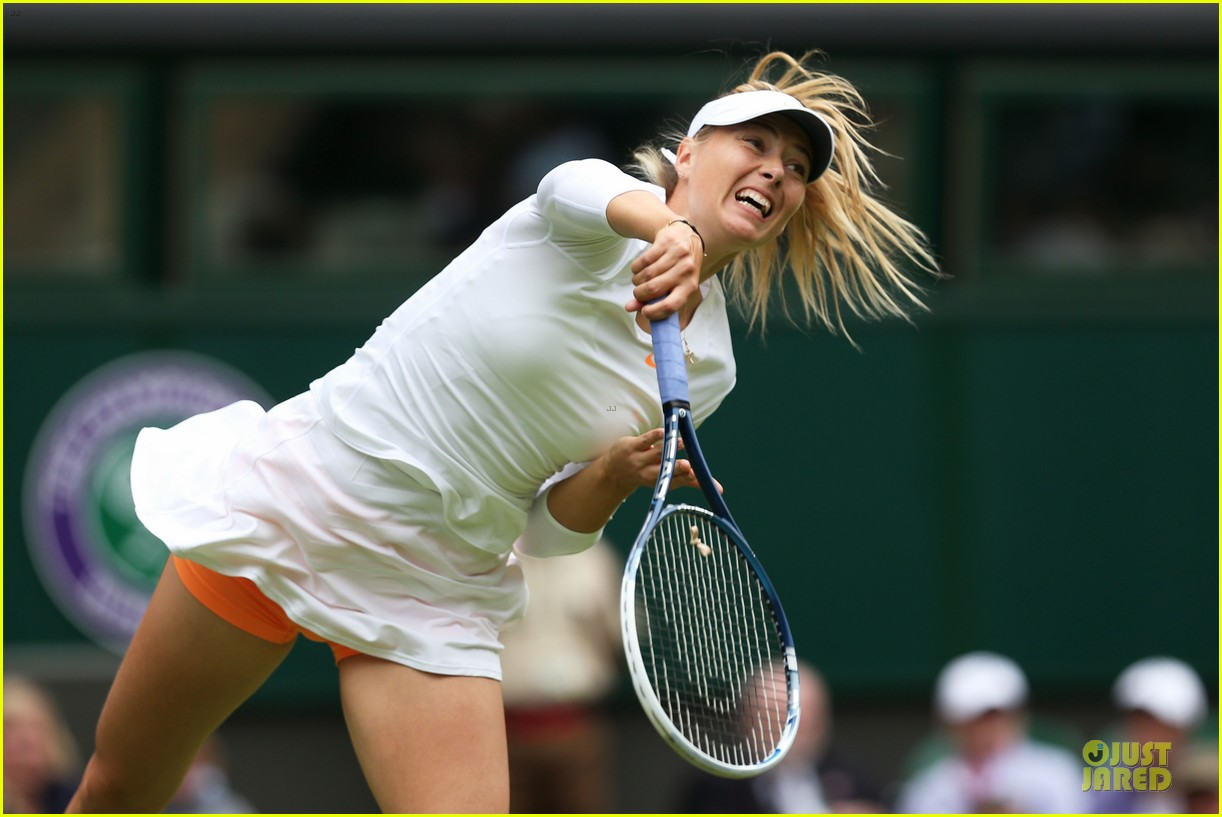 maria sharapova grigor dimitrov hold hands during wimbledon first rounds 082897989