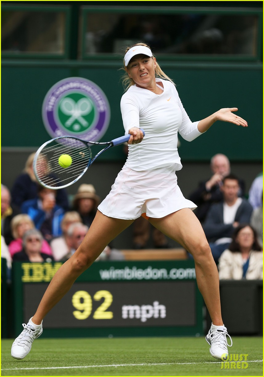 maria sharapova grigor dimitrov hold hands during wimbledon first rounds 132897994