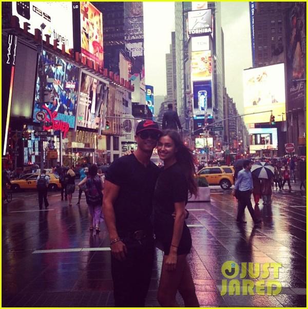 cristiano ronaldo irina shayk new york lovebirds 08