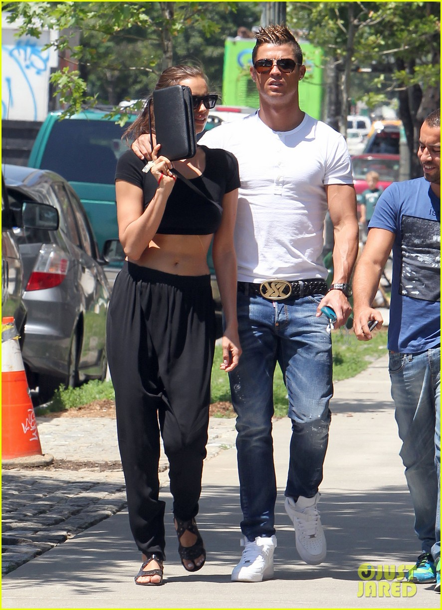 cristiano ronaldo irina shayk new york lovebirds 182894637