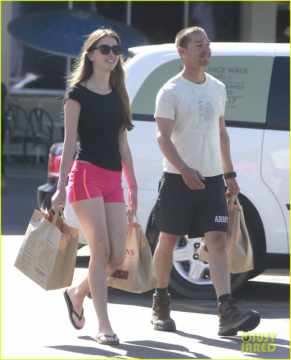 shia labeouf mia goth stock up for summer weekend 042895804