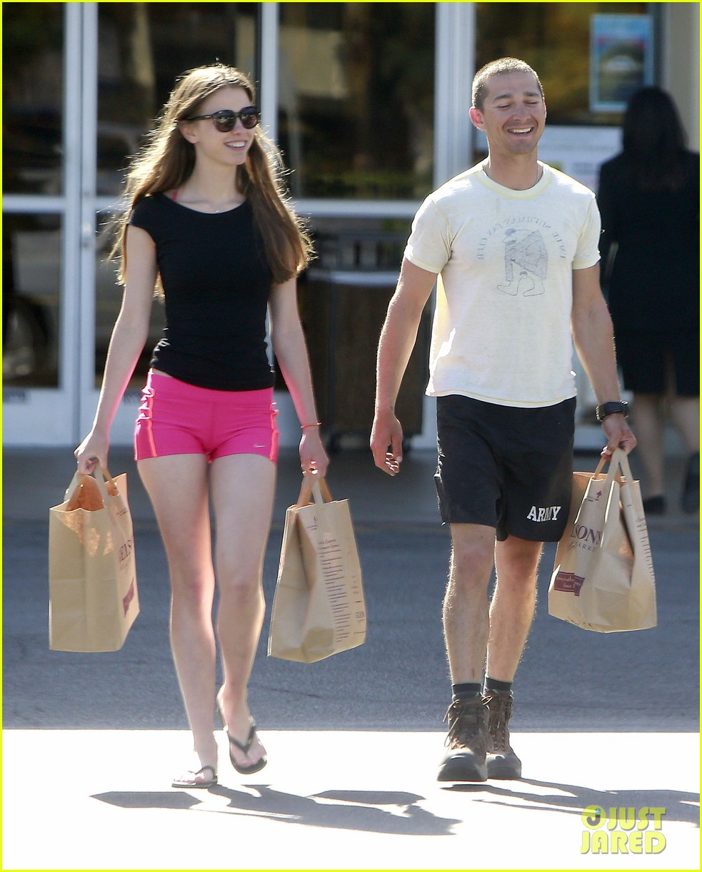 shia labeouf mia goth stock up for summer weekend 092895809