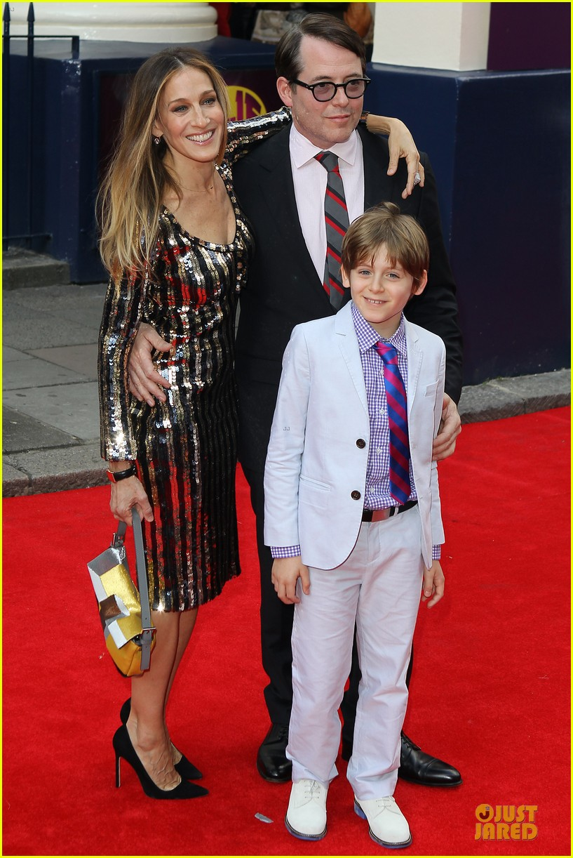 sarah jessica parker matthew broderick charlie and the chocolate factory press night 052898335