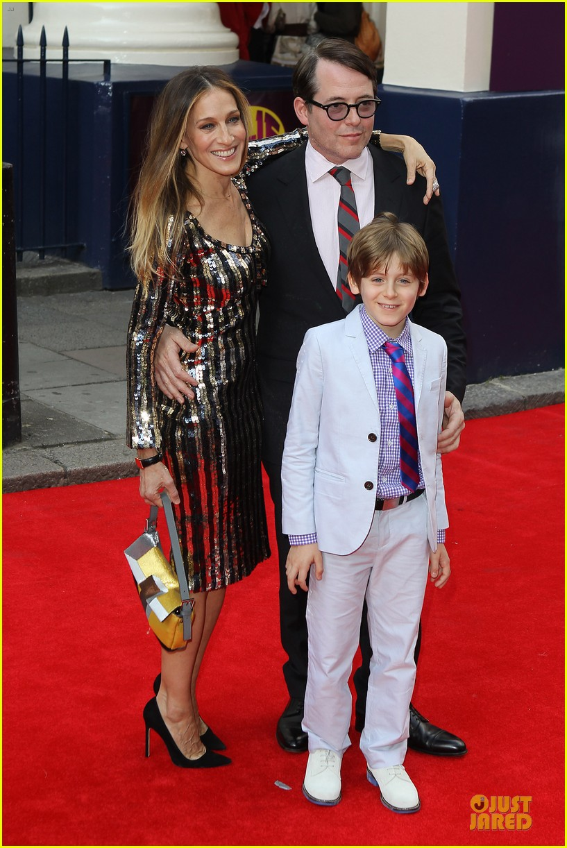 sarah jessica parker matthew broderick charlie and the chocolate factory press night 08