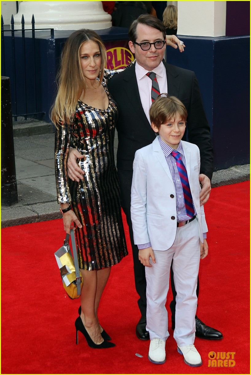 sarah jessica parker matthew broderick charlie and the chocolate factory press night 102898340