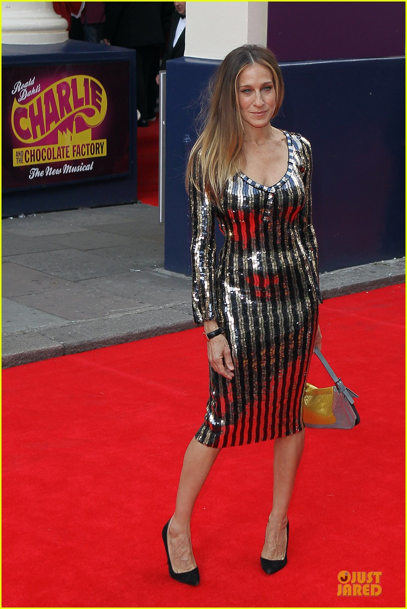sarah jessica parker matthew broderick charlie and the chocolate factory press night 142898344