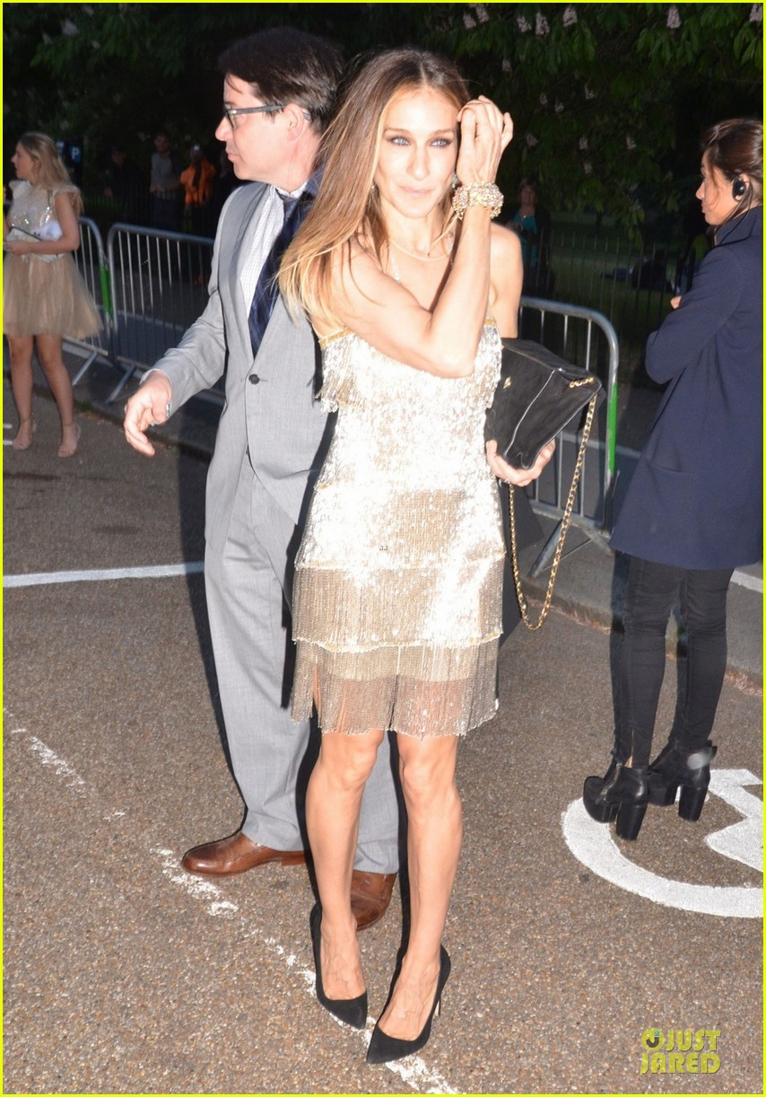 sarah jessica parker matthew broderick serpentine gallery summer party 092899004
