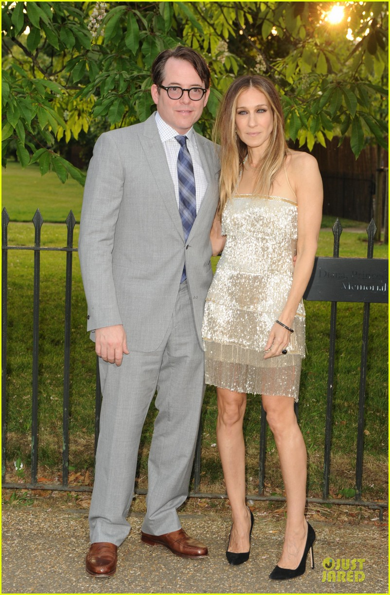 sarah jessica parker matthew broderick serpentine gallery summer party 152899010
