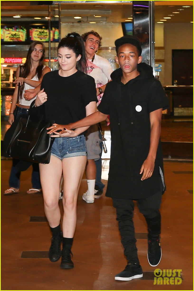 jaden smith kylie jenner hold hands after movie date 022899533