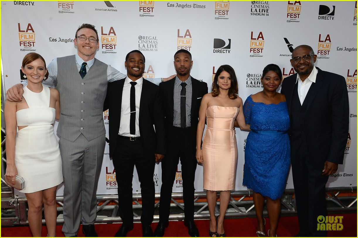 octavia spencer michael b jordan fruitvale station premiere  062893459
