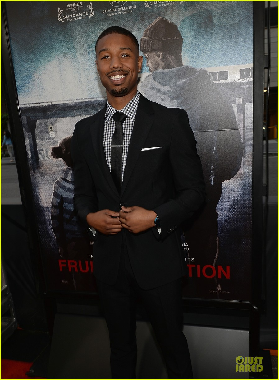 octavia spencer michael b jordan fruitvale station premiere  222893475