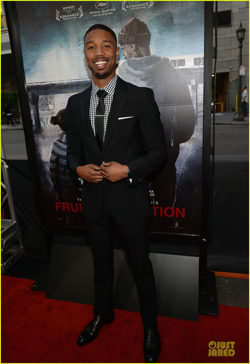 octavia spencer michael b jordan fruitvale station premiere  262893479