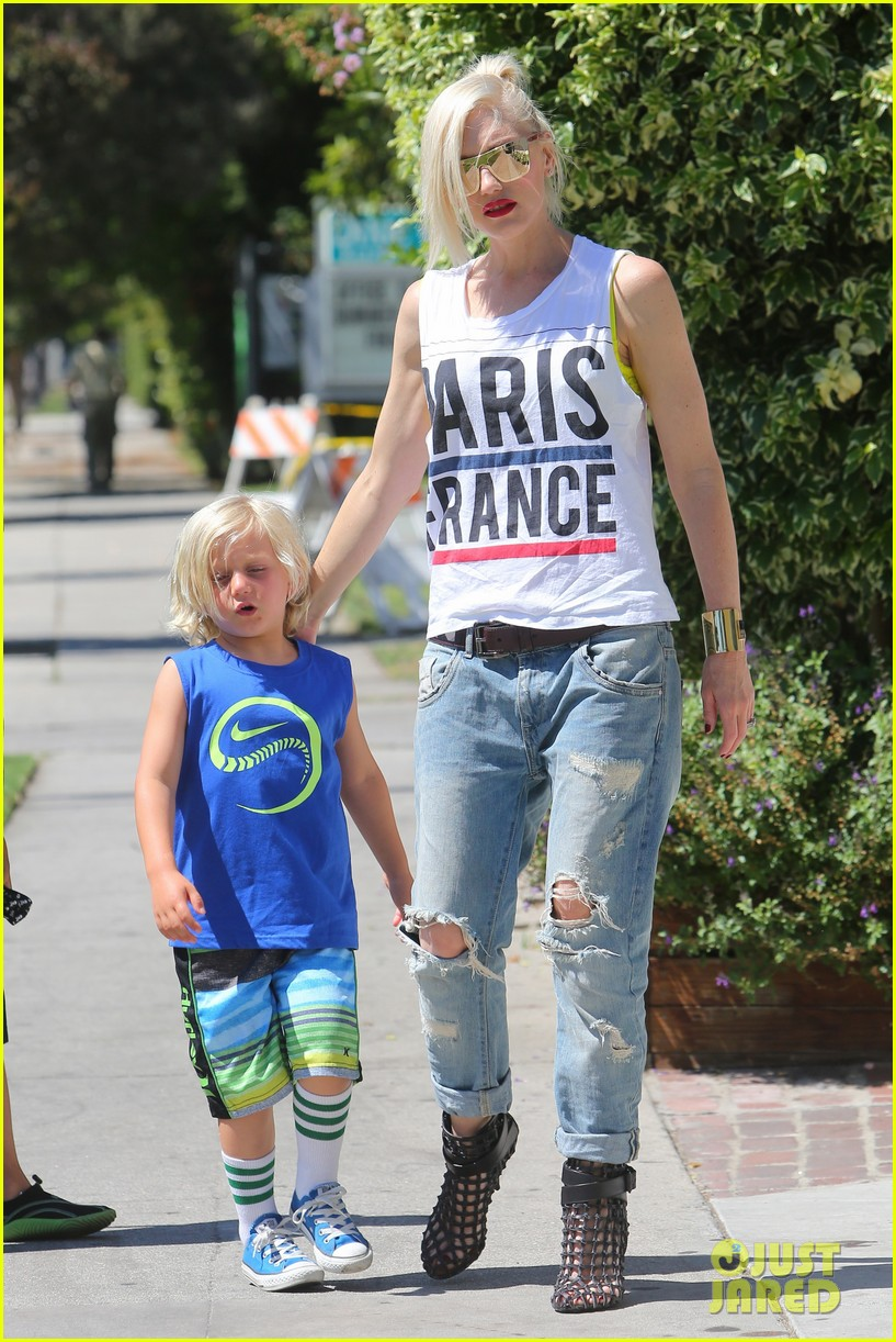gwen stefani gavin rossdale ice cream with the kids 152899422