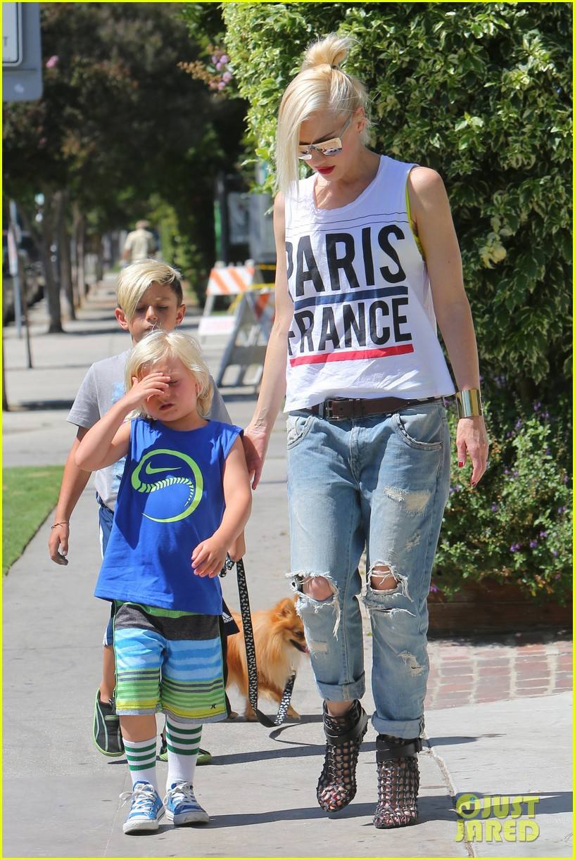 gwen stefani gavin rossdale ice cream with the kids 172899424