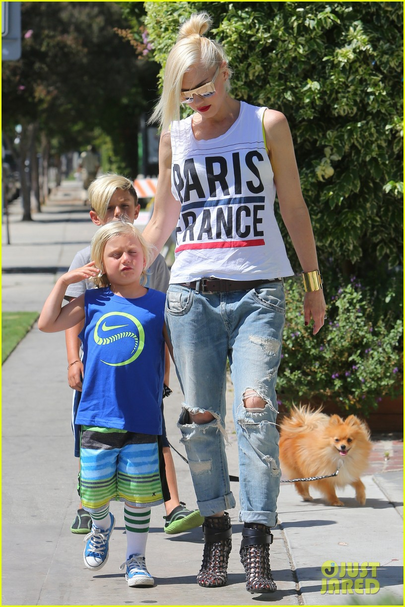 gwen stefani gavin rossdale ice cream with the kids 192899426