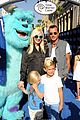 gwen stefani gavin rossdale monsters university premiere with the kids 03