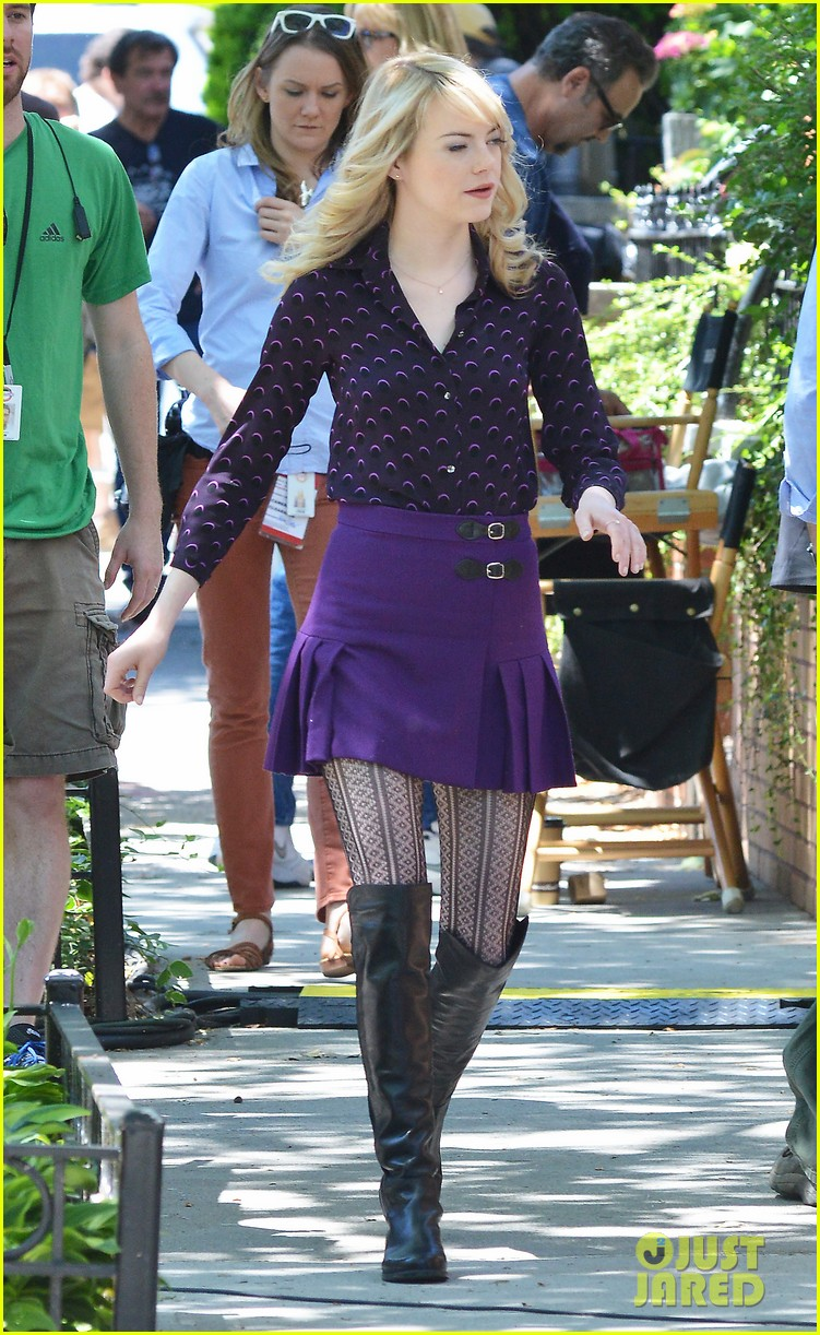 emma stone andrew garfield film spiderman with sally field 10