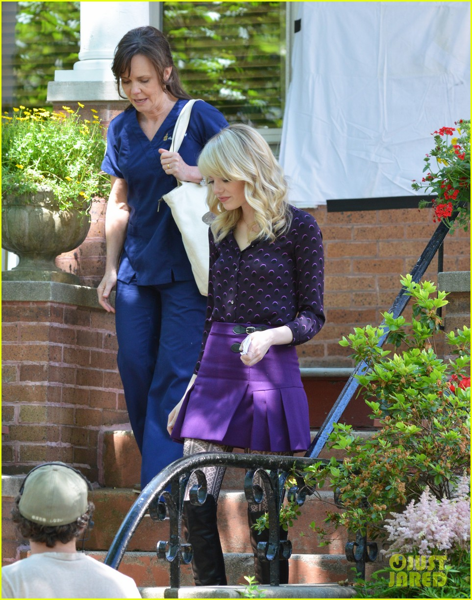 emma stone andrew garfield film spiderman with sally field 182890603