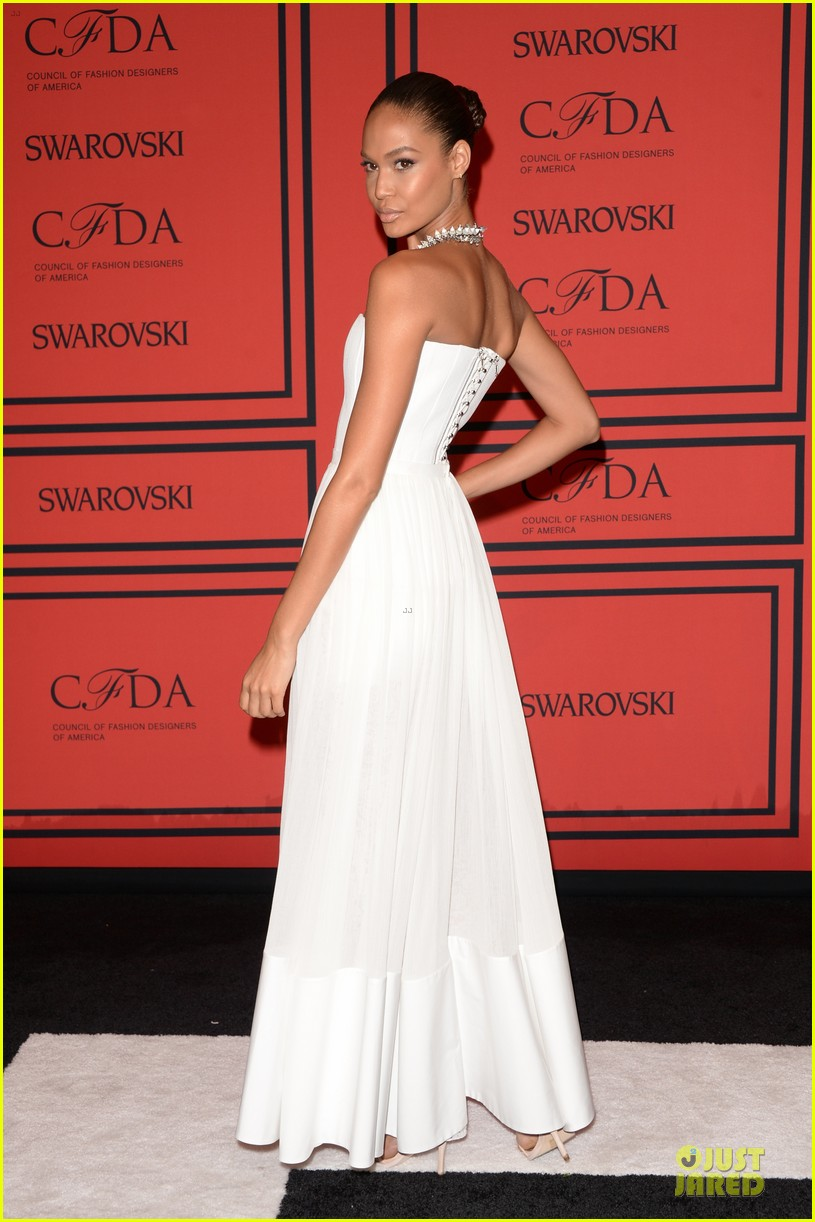 candice swanepoel karlie kloss cfda fashion awards 2013 red carpet 08