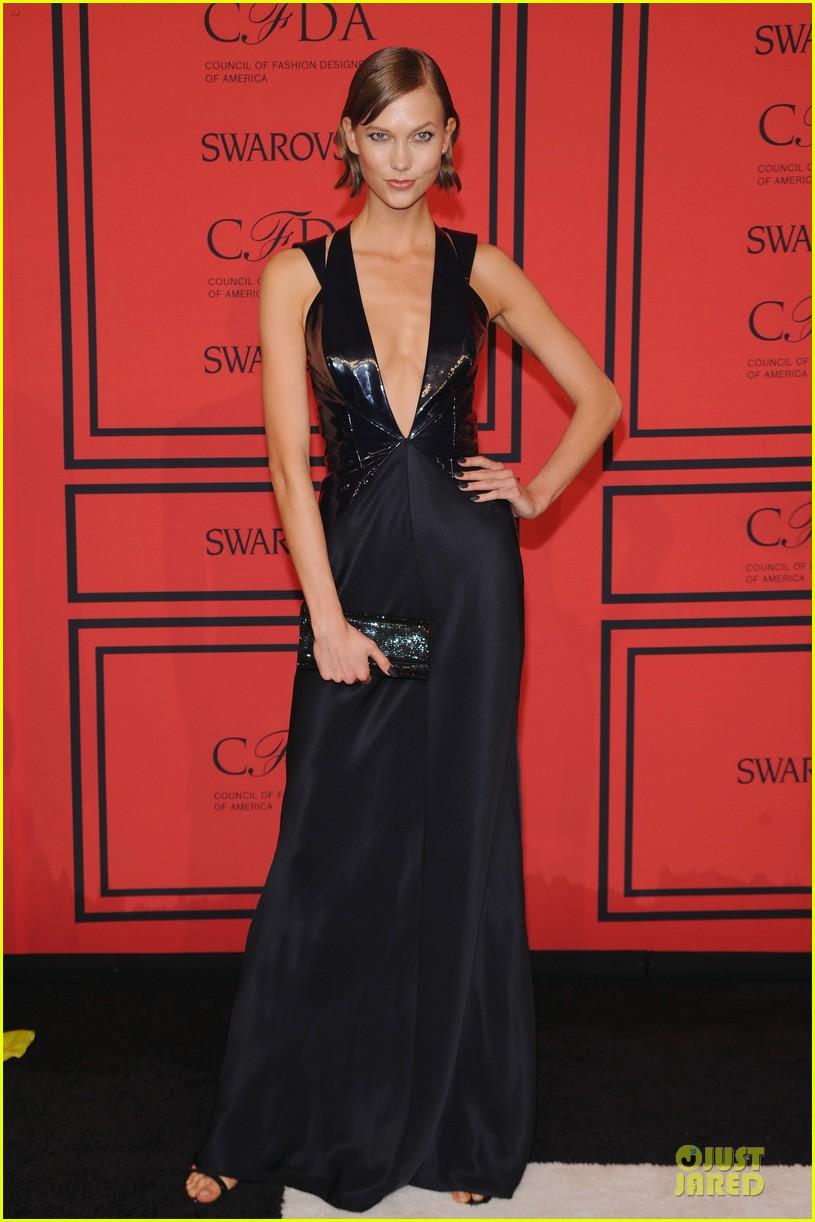 candice swanepoel karlie kloss cfda fashion awards 2013 red carpet 122884052