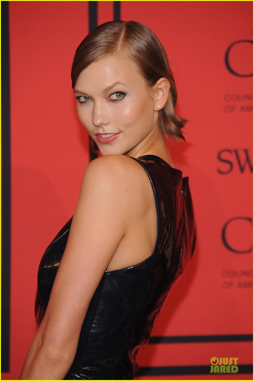 candice swanepoel karlie kloss cfda fashion awards 2013 red carpet 13