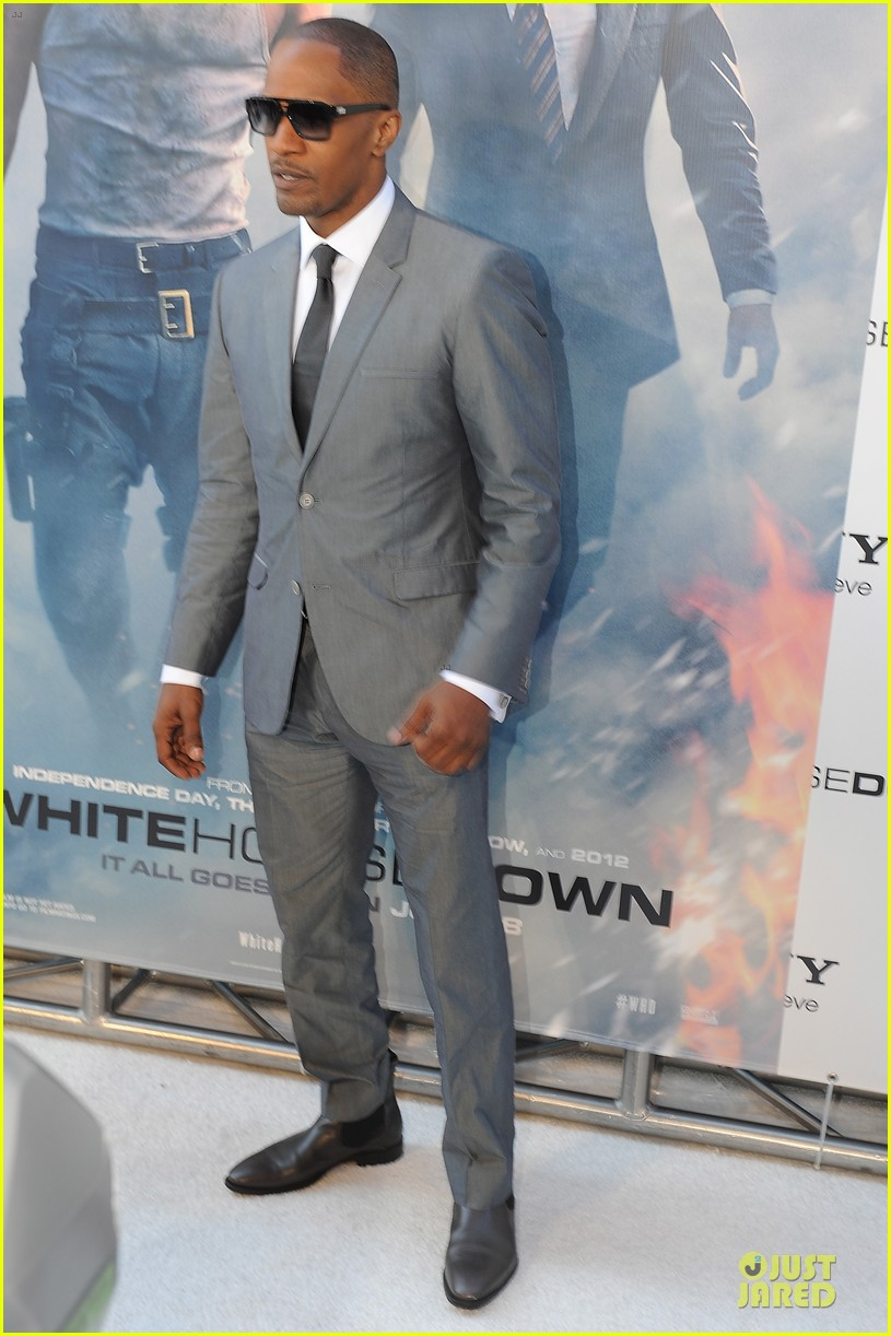 channing tatum jamie foxx white house down dc screening 052896013