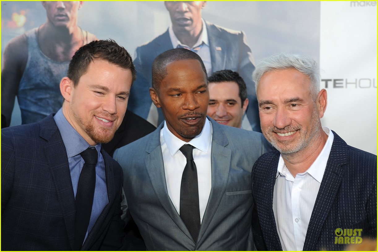 channing tatum jamie foxx white house down dc screening 062896014