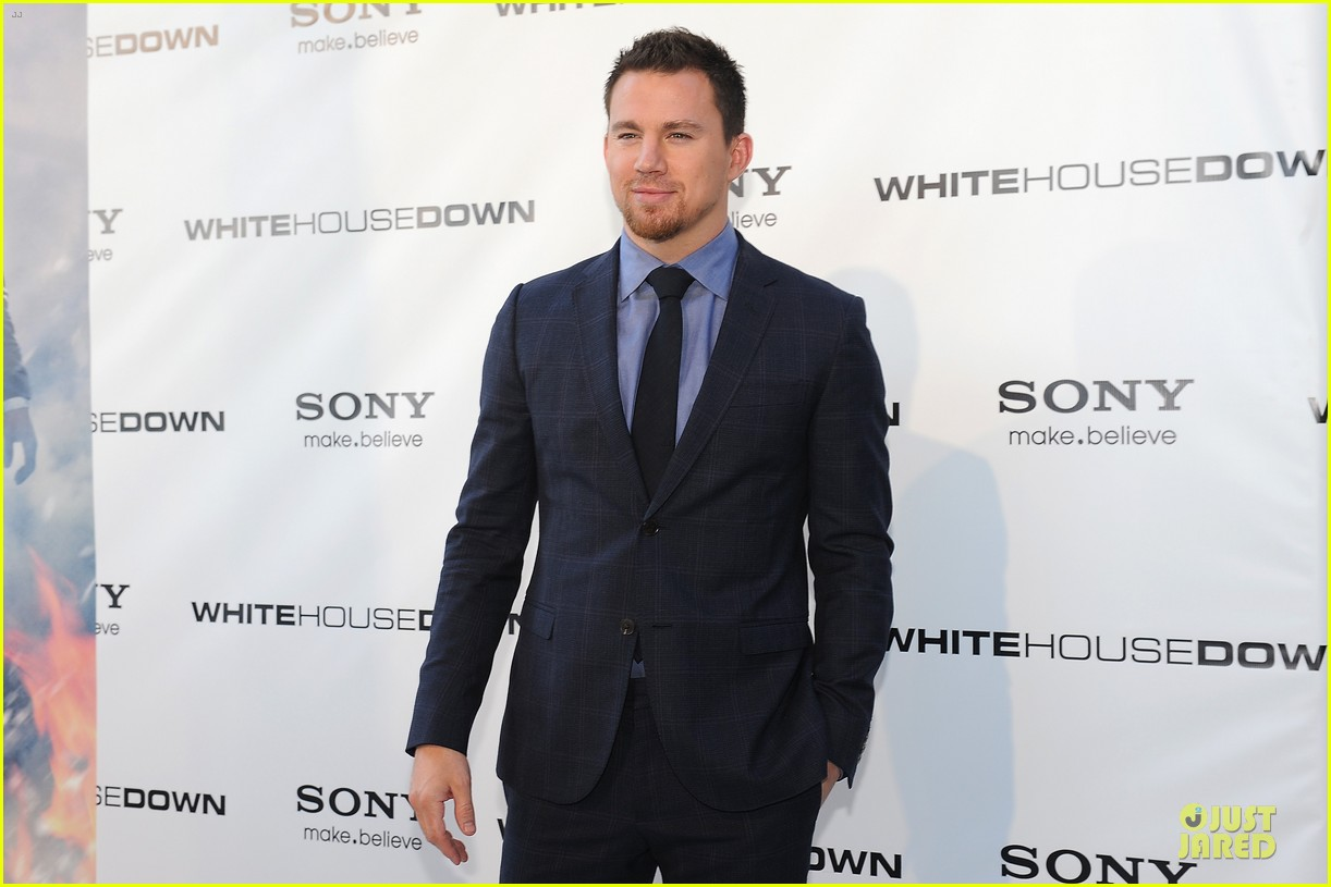 channing tatum jamie foxx white house down dc screening 16
