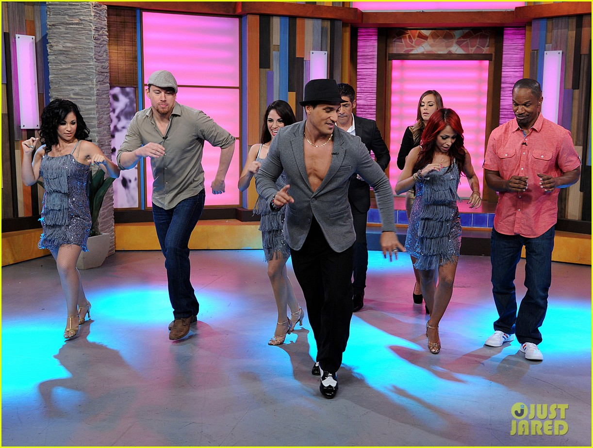 channing tatum jamie foxx dance for despierta america 032897757