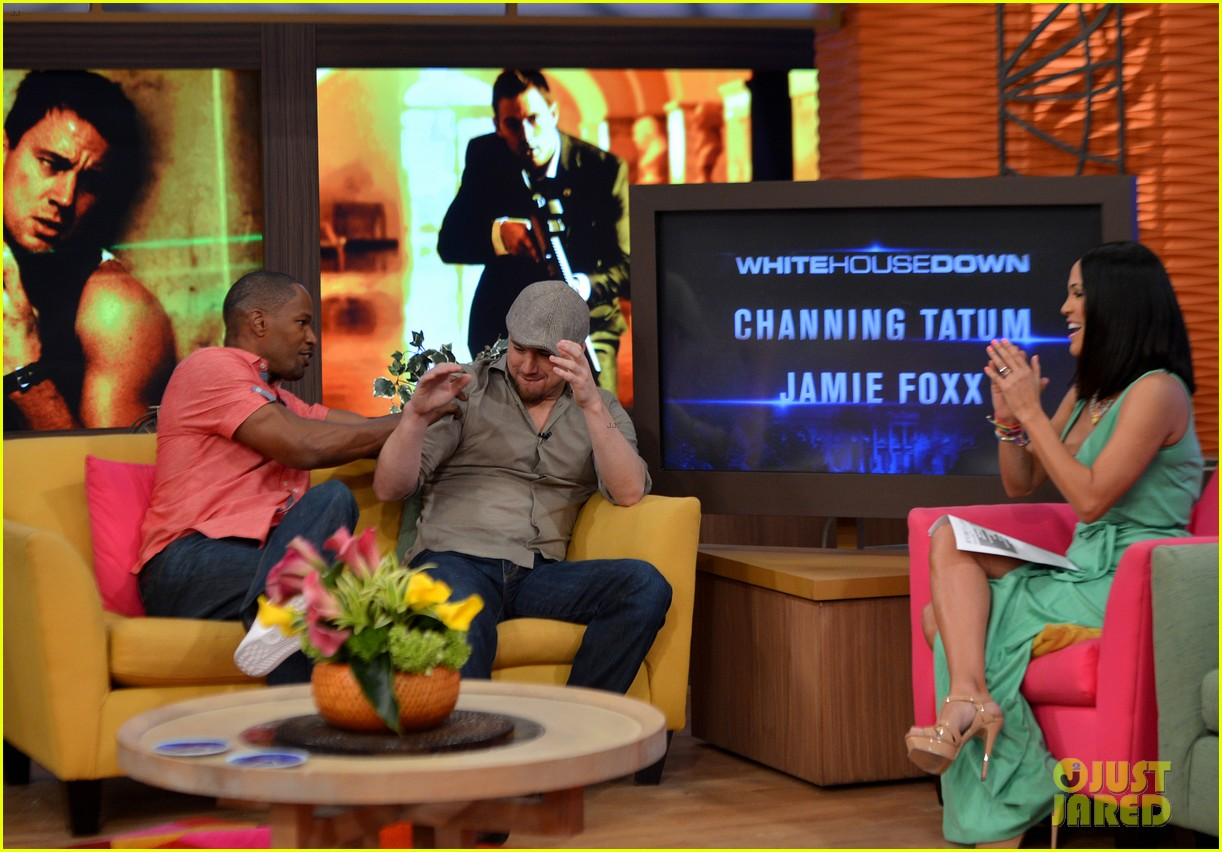 channing tatum jamie foxx dance for despierta america 042897758