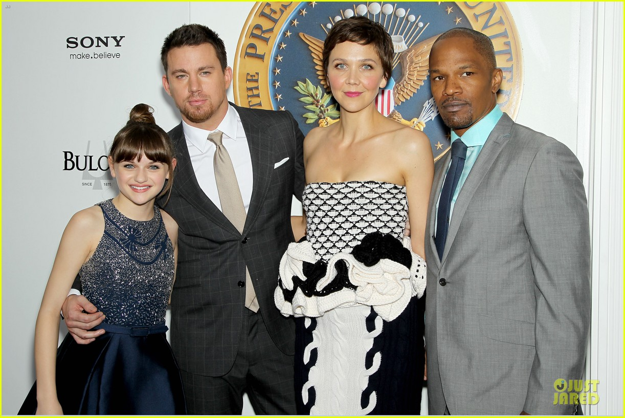 channing tatum jamie foxx white house down nyc premiere 232898515
