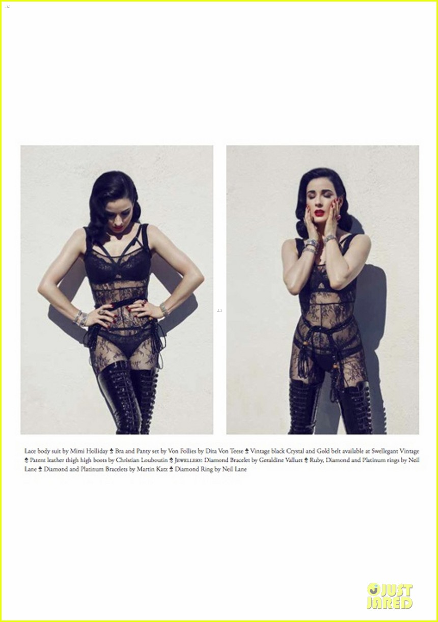 dita von teese covers bwatt magazine issue 3 032896286