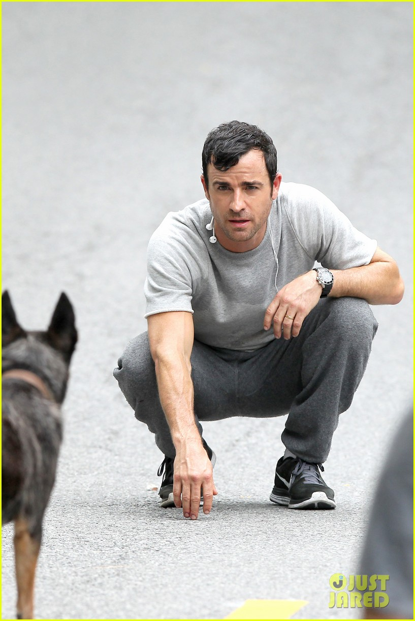 justin theroux begins filming hbo pilot leftovers 072898930