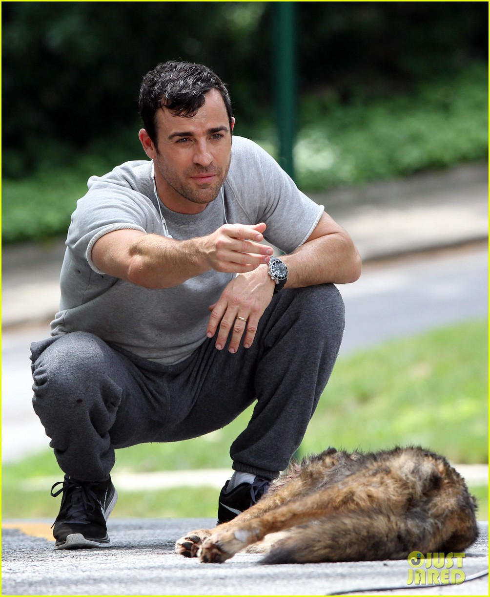 justin theroux begins filming hbo pilot leftovers 102898933