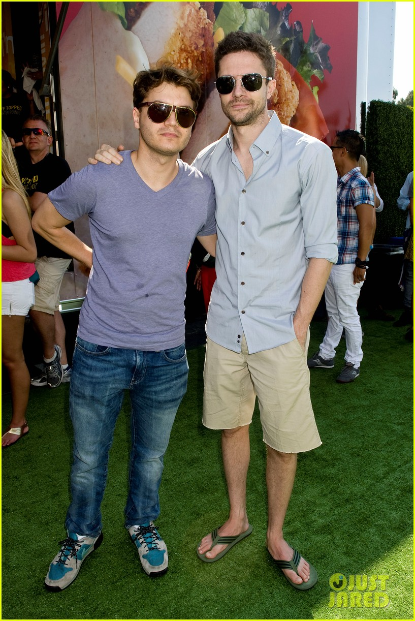 topher grace garrett clayton just jared summer kick off party mcdonalds 042883255