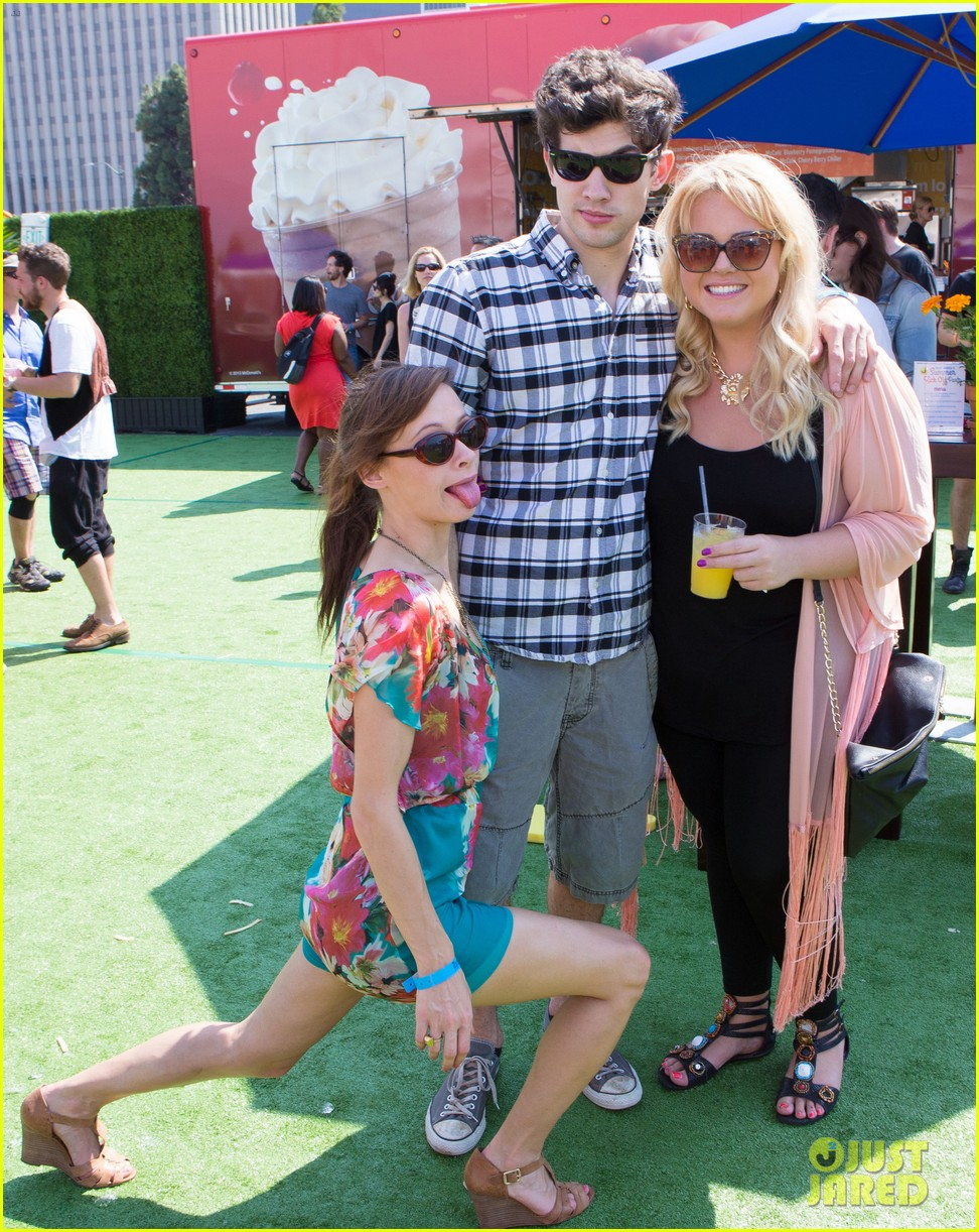 topher grace garrett clayton just jared summer kick off party mcdonalds 292883280