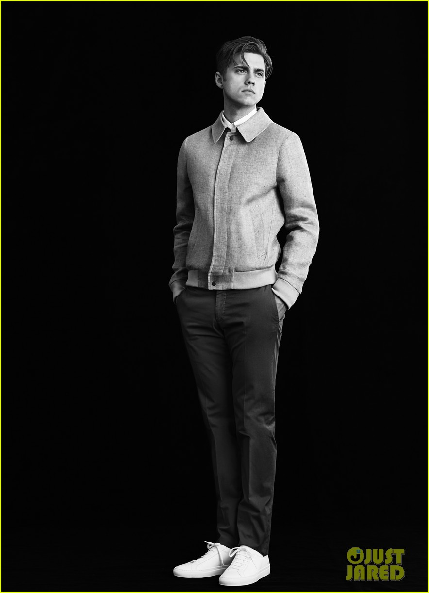 Aaron Tveit: 'Mr Porter' Photo Shoot Feature!: Photo ...